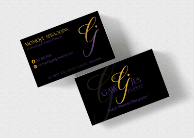 Birmingham-Graphic-Design-Company---C-Kinion-Design---GawJus-Events-Card