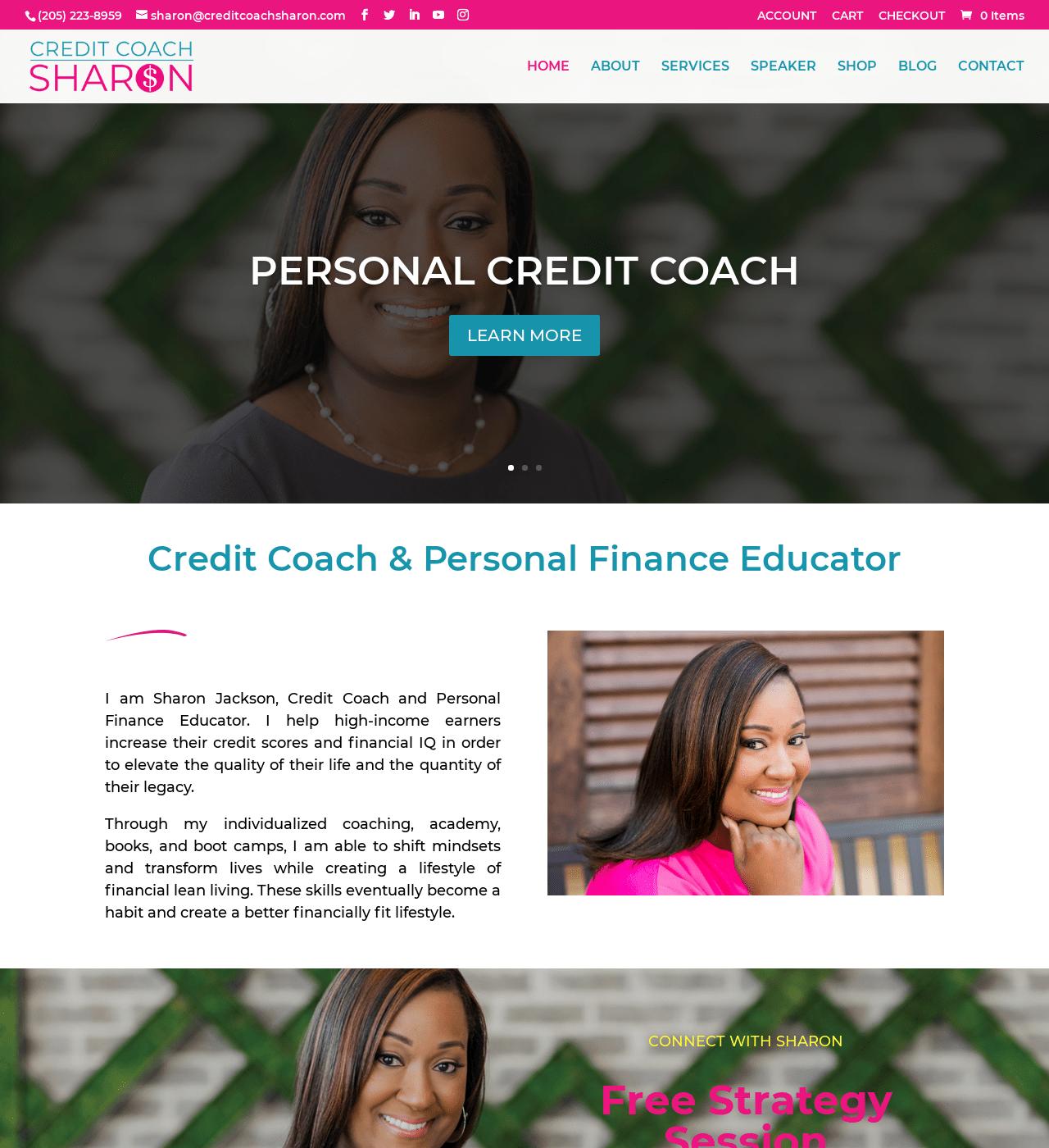 Birmingham-Web-Design-Agency-C-Kinion-Design-creditcoachsharon-com