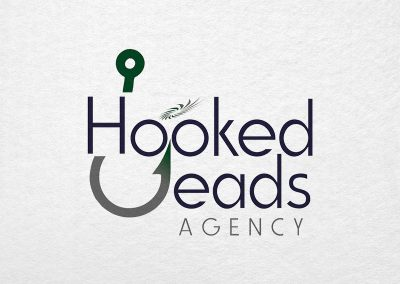 Hooked Leads Agency - Birmingham Logo Design Company - C Kinion Design