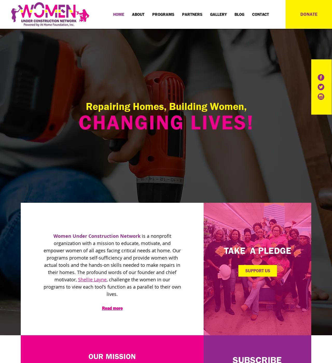 WUC Network - Website Design - C Kinion Design