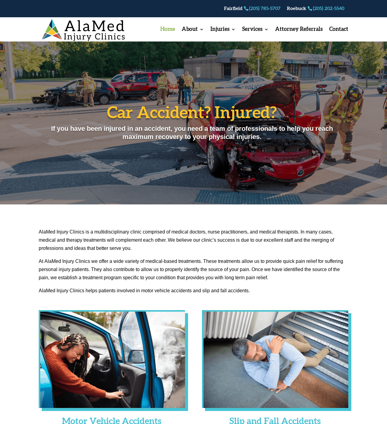 Birmingham-Web-Design-Agency-C-Kinion-Design- AlaMed Injury Clinics