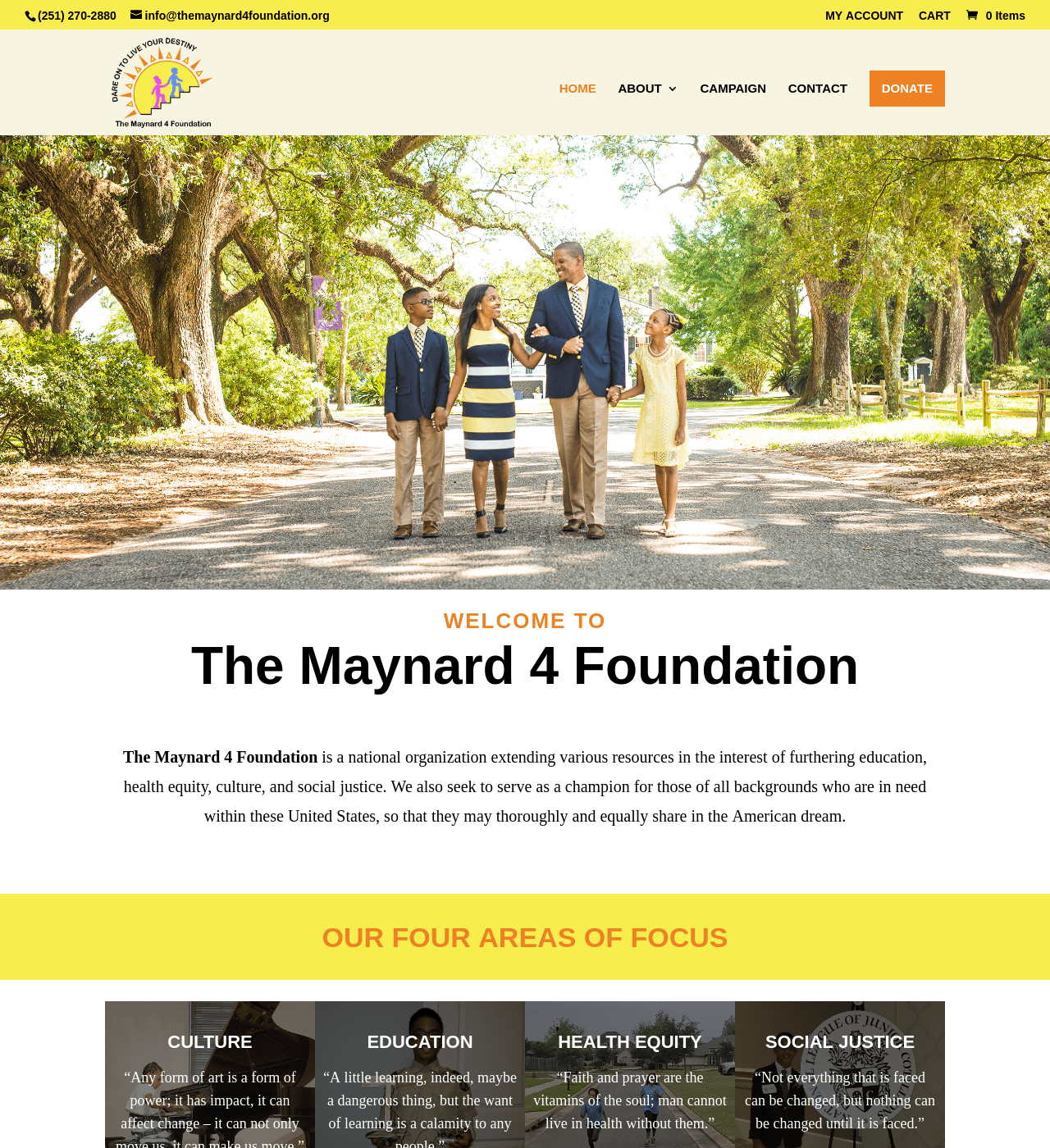 Birmingham-Web-Design-Agency-C-Kinion-Design- The-Maynard-4-Foundation