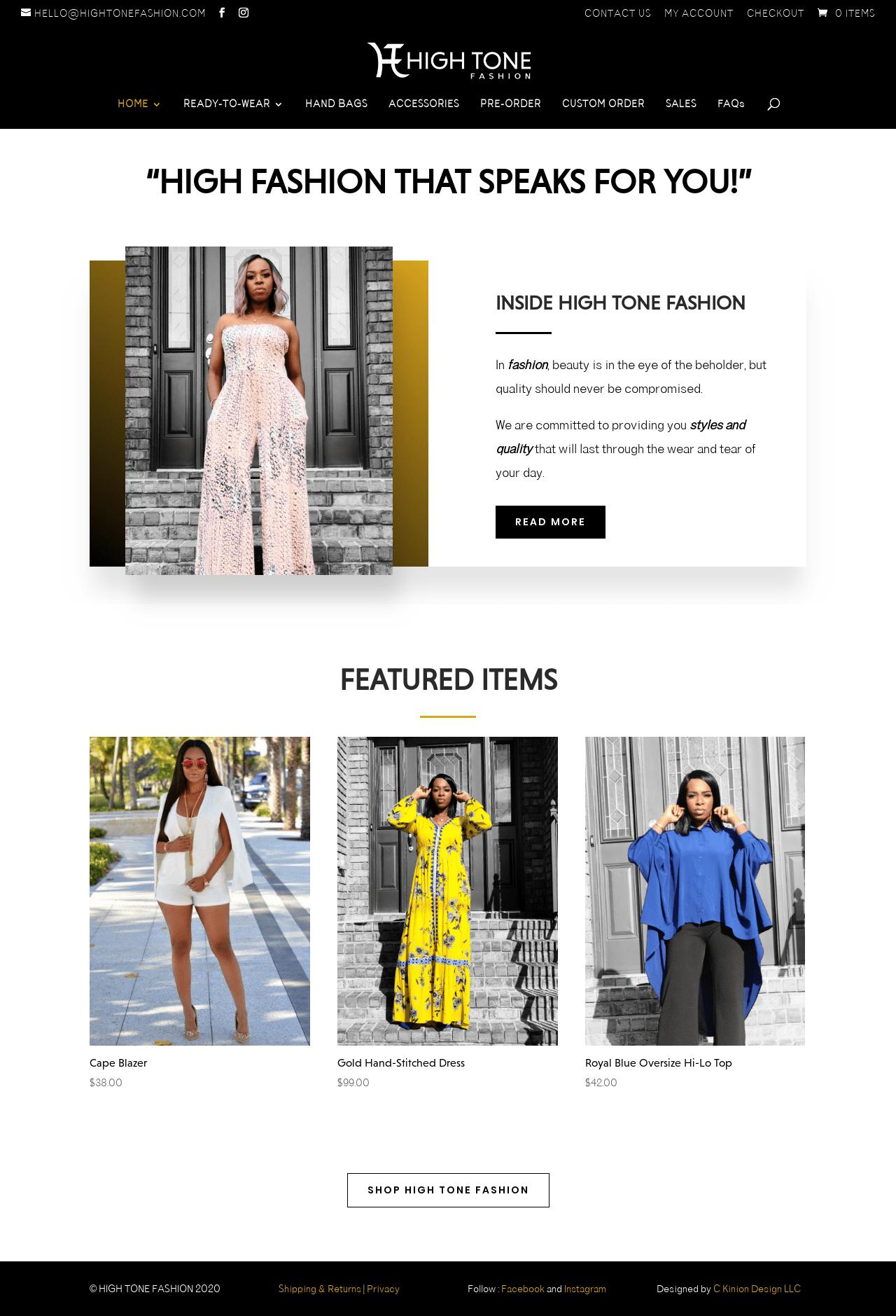 Birmingham-Web-Design-Agency-C-Kinion-High Tone Fashion