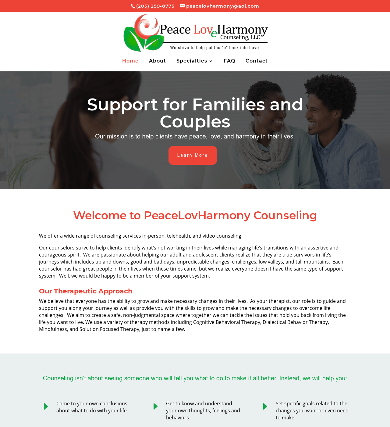 Birmingham-Web-Design-Agency-C-Kinion-Design- PeaceLovHarmony Counseling