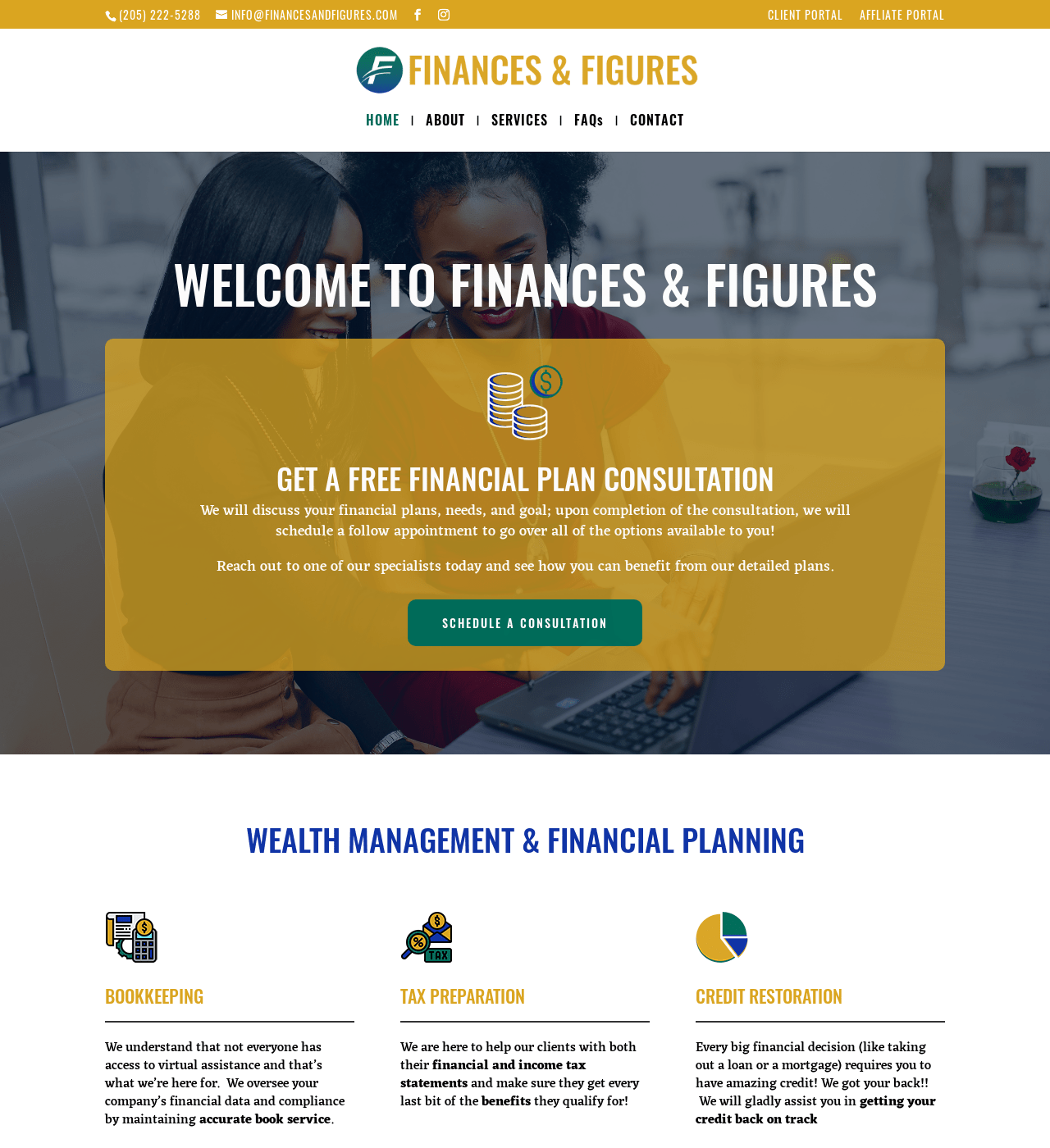 Birmingham-Web-Design-Agency-C-Kinion-Design - Finances and Figures