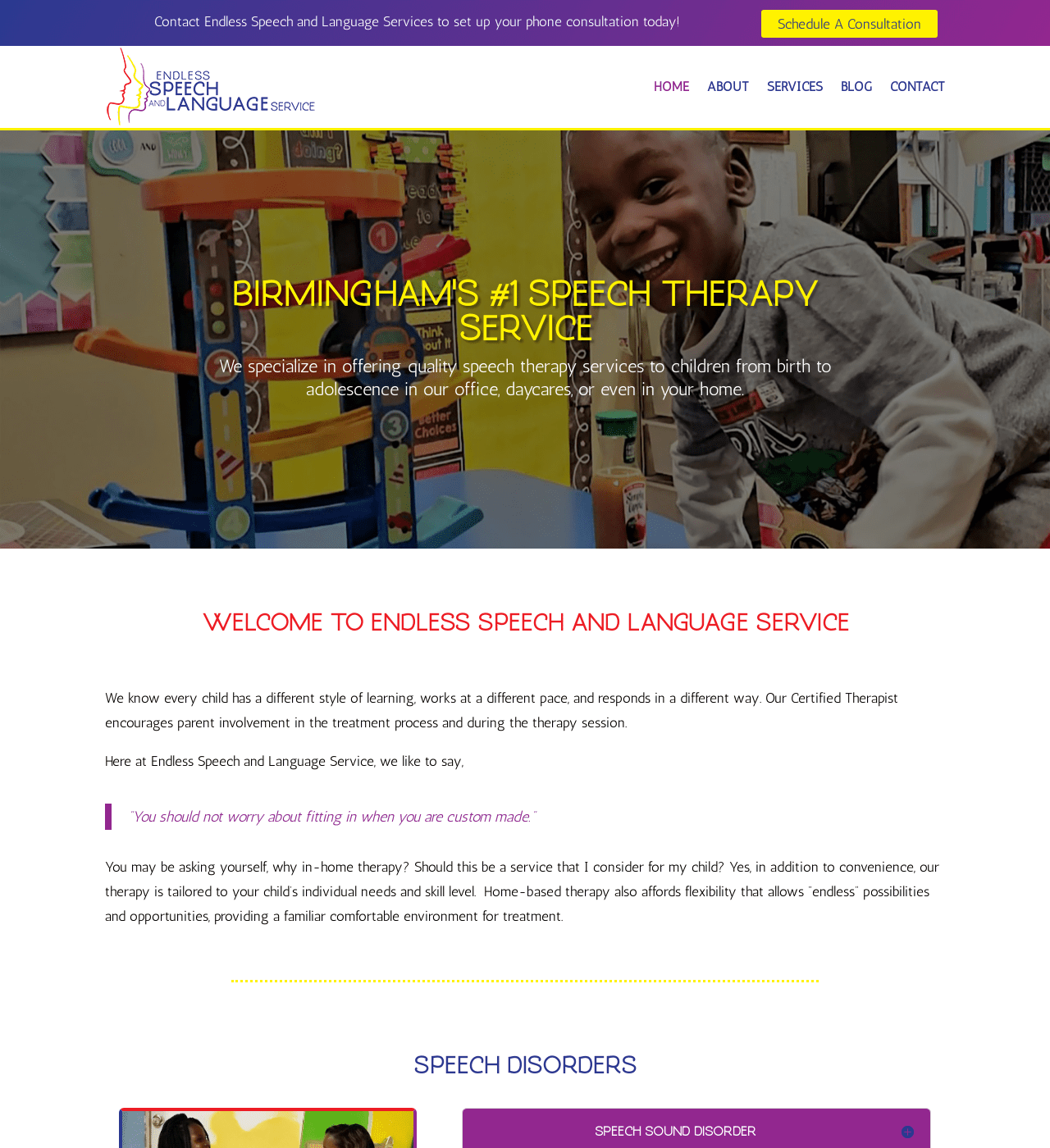 Birmingham-Web-Design-Agency-C-Kinion-Design - Endless - Speech - Language - half page