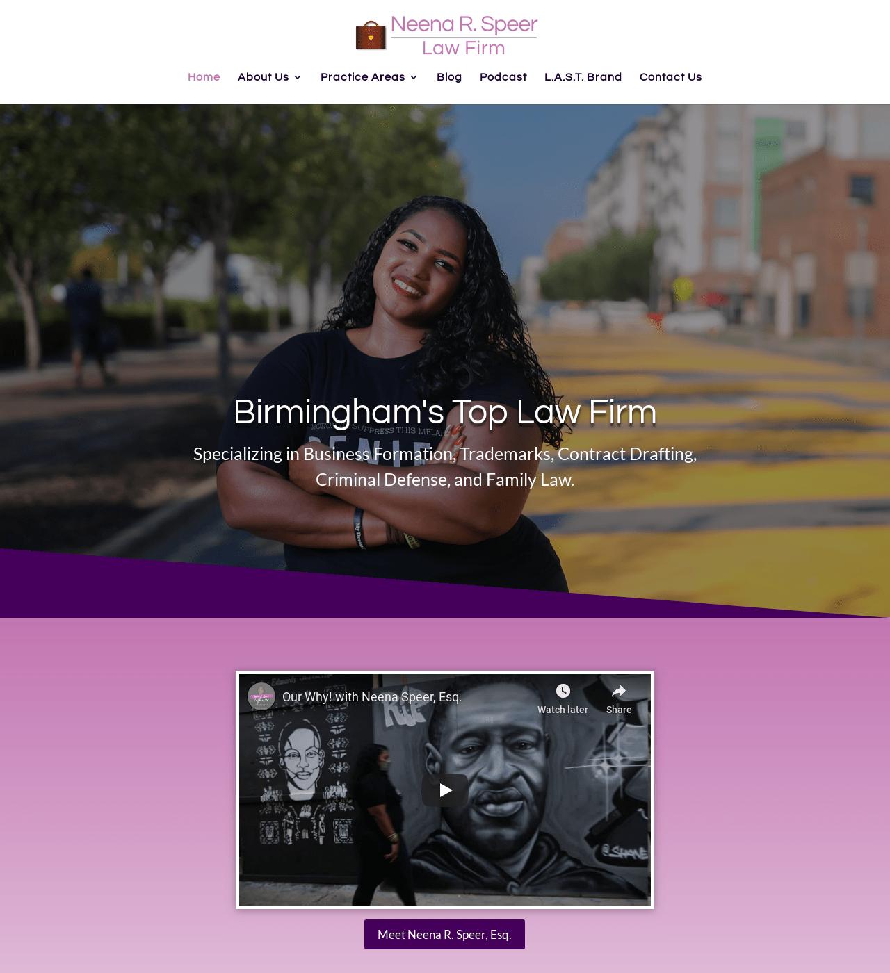 Birmingham-Web-Design-Agency-C-Kinion-Design- Neena R. Speer Law Firm