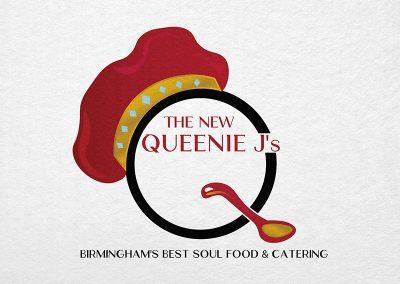 Birmingham Logo Design - C Kinion Design - The New Queenie J's