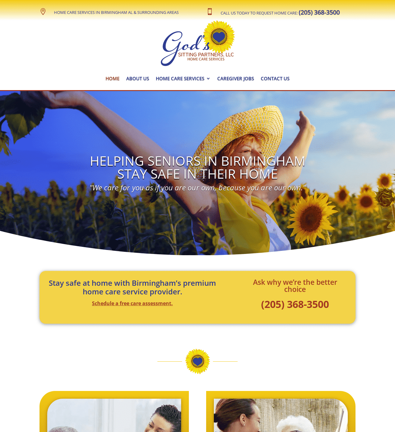 Birmingham-Web-Design-Agency-C-Kinion-Design - God's Sitting Partners - half page