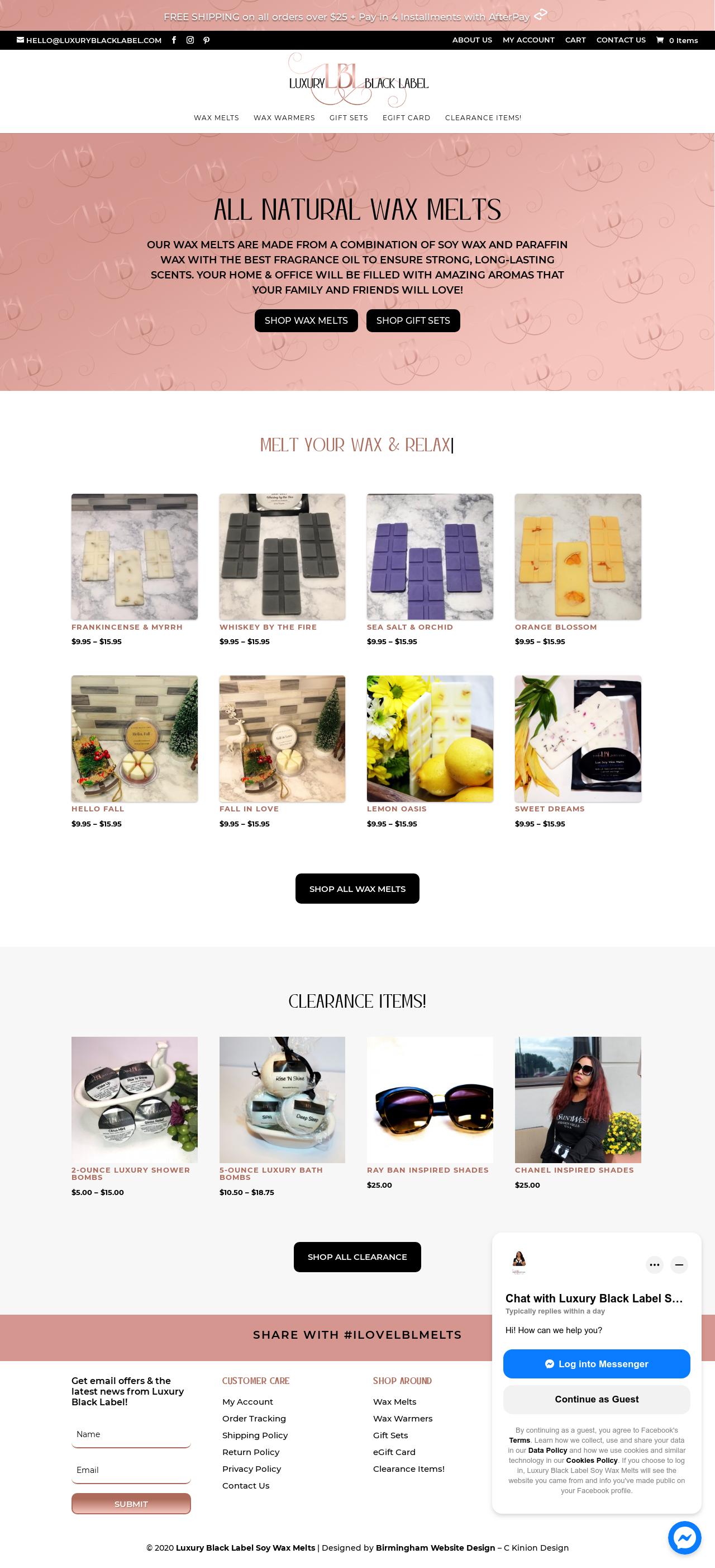 Birmingham-Web-Design-Agency-C-Kinion-Design - Luxury Black Label - full page